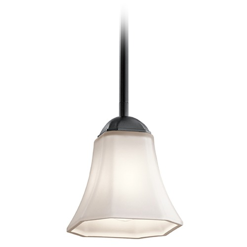 Kichler Lighting Kichler Lighting Serena Mini-Pendant Light with Bell Shade 43634BK