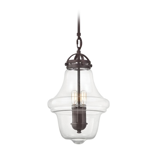 Elk Lighting Elk Lighting Gramercy Oil Rubbed Bronze Pendant Light with Urn Shade 67123/3