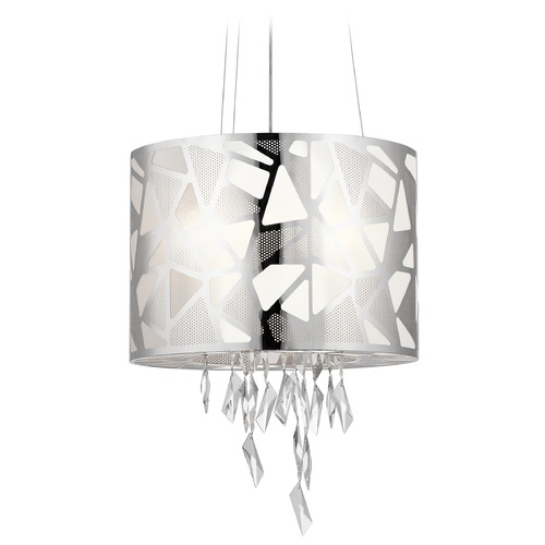 Elan Lighting Elan Lighting Angelique Chrome Pendant Light 83676