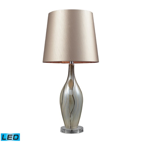 Dimond Lighting Dimond Lighting Painted Ribbon LED Table Lamp with Empire Shade D2257-LED