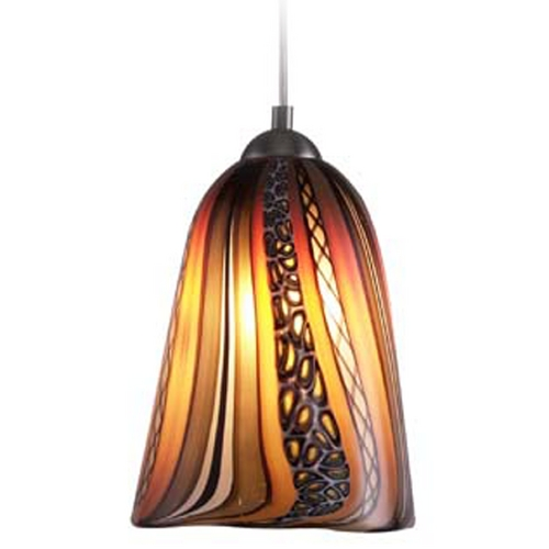 Oggetti Lighting Oggetti Lighting Amore Satin Nickel Mini-Pendant Light 18-L0154Q