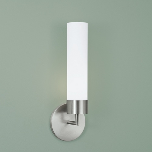 Norwell Lighting Norwell Lighting Sobe Brush Nickel Sconce 8775-BN-MO