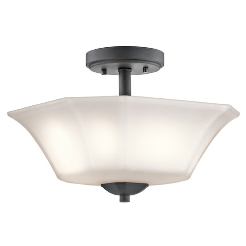 Kichler Lighting Kichler Lighting Serena Semi-Flushmount Light 43636BK