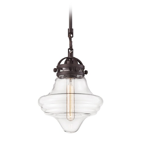 Elk Lighting Elk Lighting Gramercy Oil Rubbed Bronze Mini-Pendant Light 67124/1