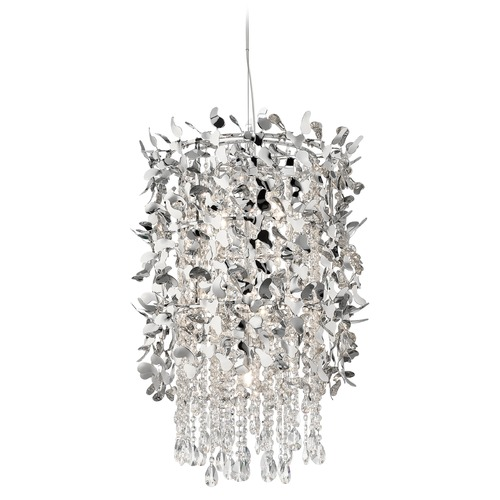 Elan Lighting Elan Lighting Alexa Chrome Pendant Light 83678