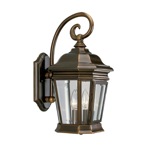 Progress Lighting Progress Oil Rubbed Bronze Outdoor Wall Light with White Glass P5671-108