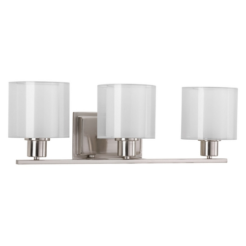 Progress Lighting Progress Lighting Invite Brushed Nickel Bathroom Light P2079-09