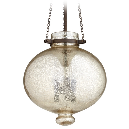 Cyan Design Cyan Design Cydney Oiled Bronze Pendant Light with Bowl / Dome Shade 06570