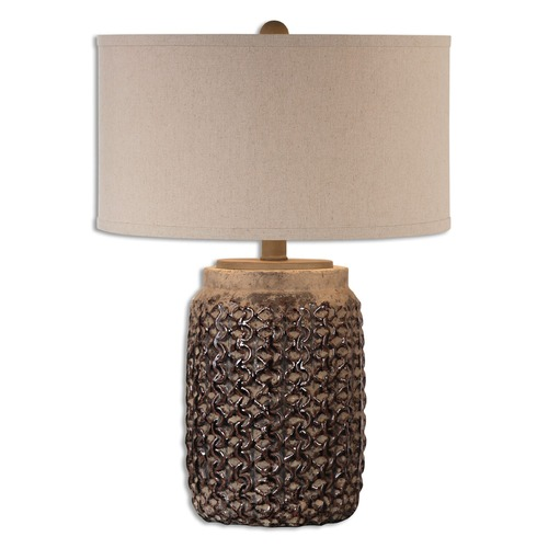 Uttermost Lighting Uttermost Bucciano Textured Ceramic Table Lamp 26612-1