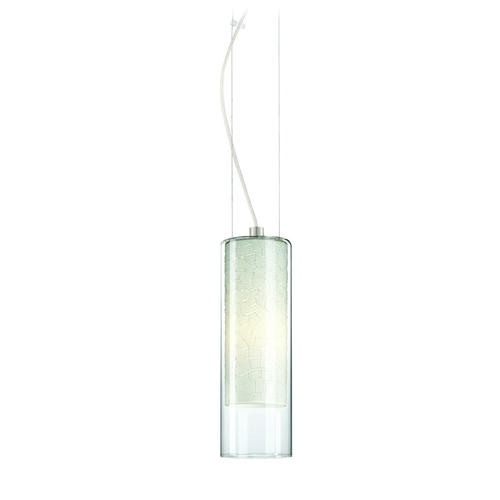 Philips Lighting Modern Mini-Pendant Light with White Glass 190160836