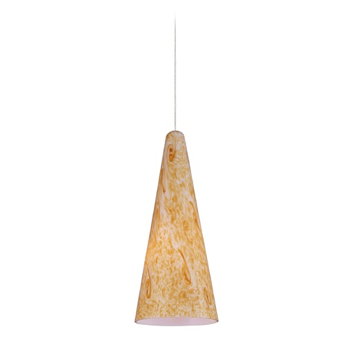 ET2 Lighting Minx Bronze Mini-Pendant Light with Conical Shade E94430-103BZ