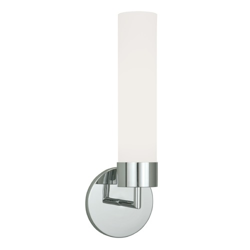 Norwell Lighting Norwell Lighting Sobe Polished Nickel Sconce 8775-PN-MO