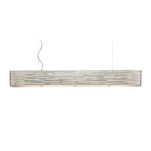 Tech Lighting LED Linear Pendant Light by Tech Lighting Satin Nickel by Tech Lighting 700LSRVLST-LED830-277