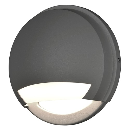 Access Lighting Access Lighting Avante Satin Nickel LED Outdoor Wall Light 20044LEDDMG-SAT/OPL