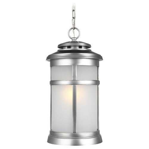 Feiss Lighting Feiss Lighting Newport Painted Brushed Steel Outdoor Hanging Light OL14309PBS