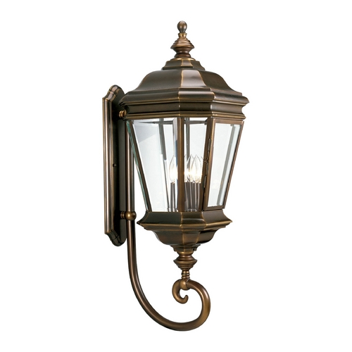 Progress Lighting Progress Oil Rubbed Bronze Outdoor Wall Light with White Glass P5673-108