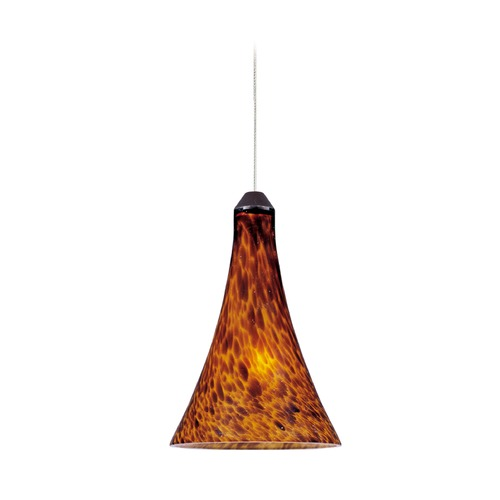 ET2 Lighting Minx Bronze Mini-Pendant Light with Bell Shade E94431-104BZ