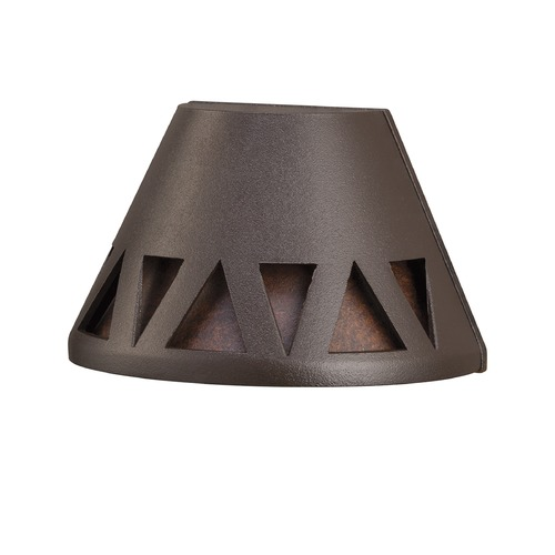 Kichler Lighting Kichler Lighting Textured Architectural Bronze LED Deck Light 16112AZT27