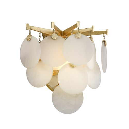 Corbett Lighting Corbett Lighting Serenity Gold Leaf LED Sconce 228-11