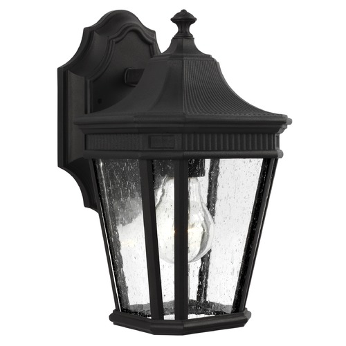 Feiss Lighting Feiss Lighting Cotswold Lane Black Outdoor Wall Light OL5420BK