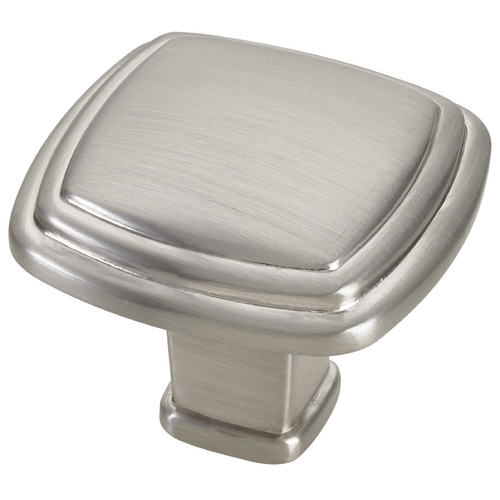 Seattle Hardware Co Satin Nickel Cabinet Knob 1-1/4-inch HW34-K-09