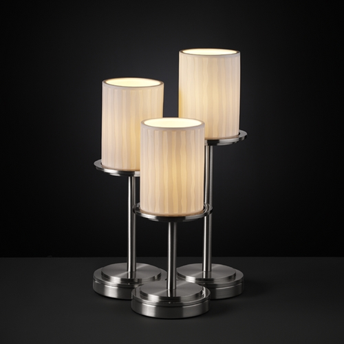 Justice Design Group Justice Design Group Limoges Collection Table Lamp POR-8797-10-WFAL-NCKL