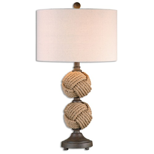 Uttermost Lighting Uttermost Higgins Rope Spheres Table Lamp 26615-1