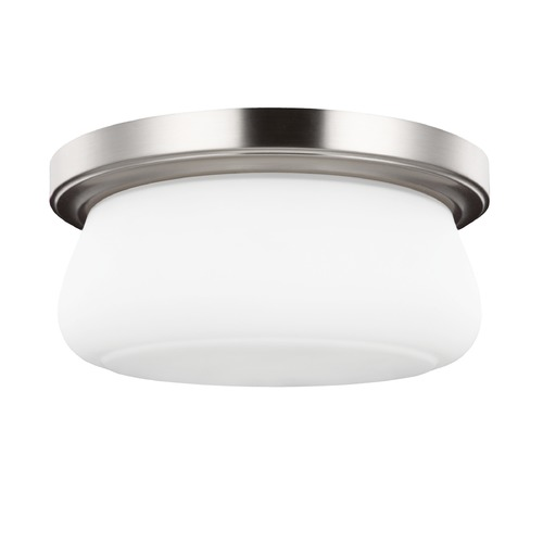 Sea Gull Lighting Sea Gull Lighting Vintner Satin Nickel Flushmount Light FM412SN