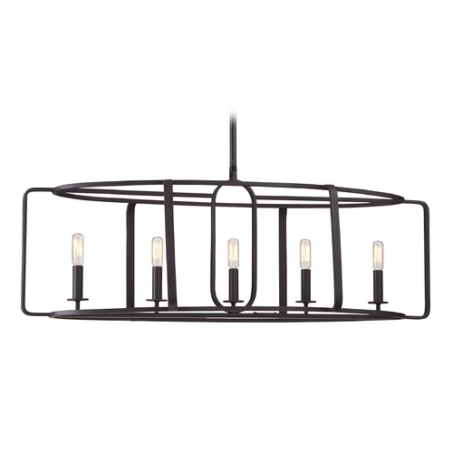 Savoy House Savoy House Lighting Santina English Bronze Pendant Light 1-1180-5-13