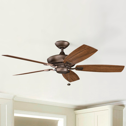 Kichler Lighting Kichler Ceiling Fan in Weathered Copper Finish 310192WCP