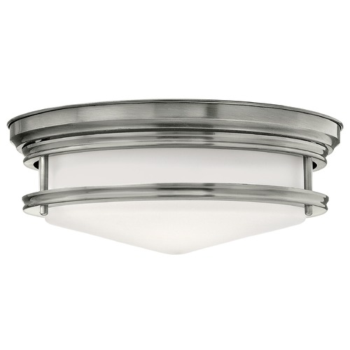 Hinkley Hinkley Hadley 3-Light Antique Nickel Flushmount Light 3301AN