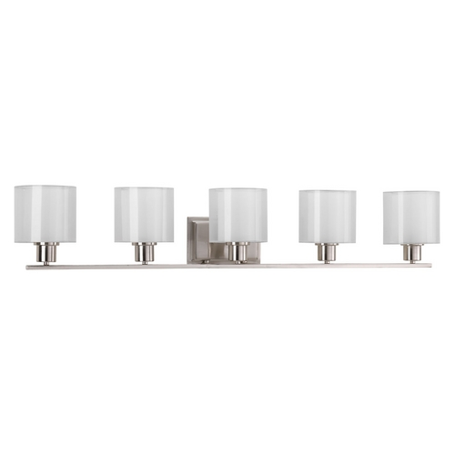 Progress Lighting Progress Lighting Invite Brushed Nickel Bathroom Light P2081-09