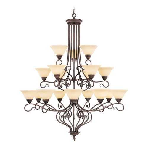 Livex Lighting Livex Lighting Coronado Imperial Bronze Chandelier 6139-58
