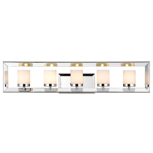 Golden Lighting Golden Lighting Smyth Chrome Bathroom Light 2074-BA5 CH