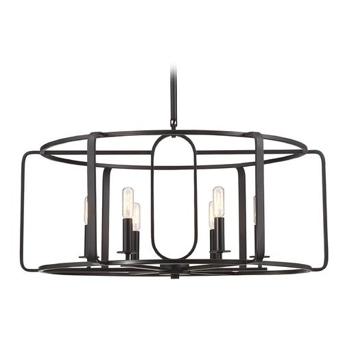 Savoy House Savoy House Lighting Santina English Bronze Pendant Light 1-1181-6-13