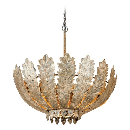 Dimond Lighting Dimond Taj Antique Gold Pendant Light 8468-084