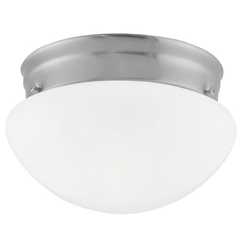 Design Classics Lighting 6-Inch Flushmount Ceiling Light 2961ES-SN/OP