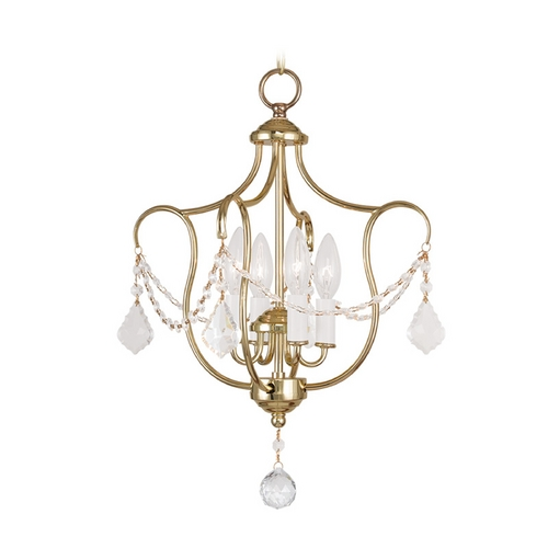 Livex Lighting Livex Lighting Chesterfield Polished Brass Pendant Light 6434-02