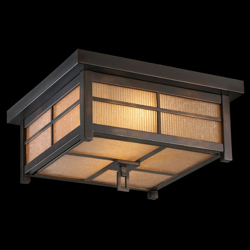 Fine Art Lamps Fine Art Lamps Capistrano Warm Bronze Patina Close To Ceiling Light 401080ST