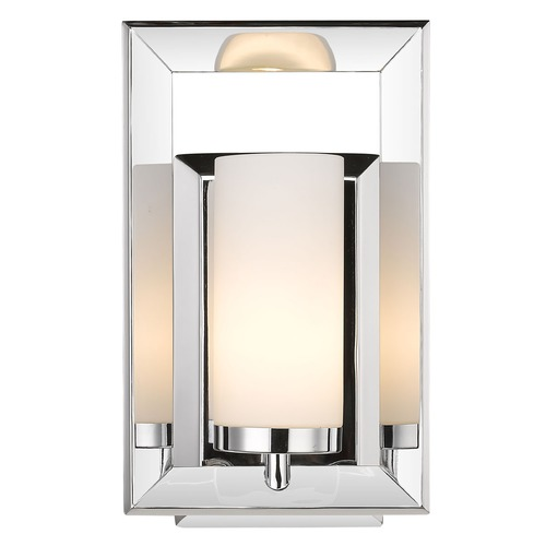 Golden Lighting Golden Lighting Smyth Ch Chrome Sconce 2074-BA1 CH