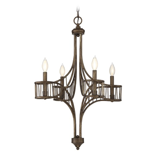 Savoy House Savoy House Lighting Licton Guilded Bronze Chandelier 1-165-4-131