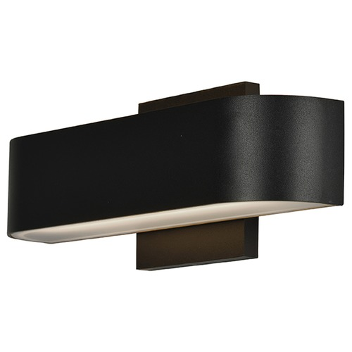 Access Lighting Access Lighting Montreal Black LED Outdoor Wall Light 20046LEDDMG-BL/FST