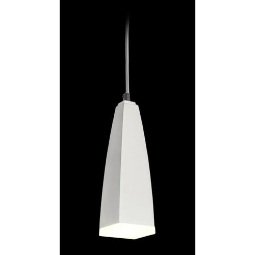 Elan Lighting Elan Lighting Heren Platinum (painted) LED Mini-Pendant Light 83558