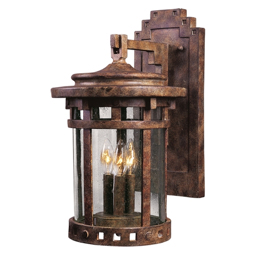 Maxim Lighting Maxim Lighting Santa Barbara Dc Sienna Outdoor Wall Light 3134CDSE