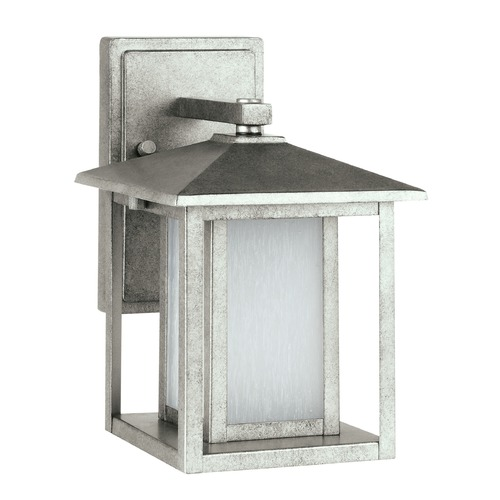 Sea Gull Lighting Sea Gull Lighting Hunnington Weathered Pewter LED Outdoor Wall Light 89029EN3-57