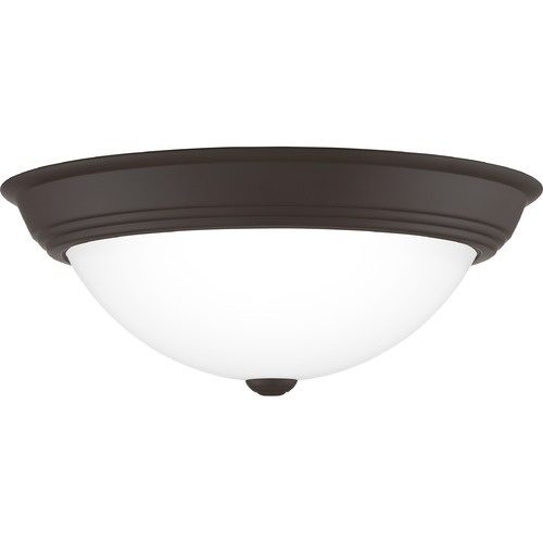 Quoizel Lighting Quoizel Lighting Erwin Old Bronze Flushmount Light ERW1615OZ