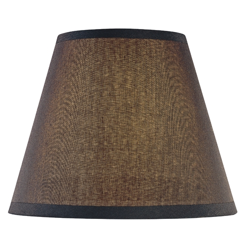 Minka Lavery Black Empire Lamp Shade with Uno Assembly SH1963