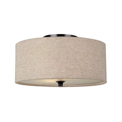 Sea Gull Lighting Modern Flushmount Lights in Burnt Sienna Finish 75952-710
