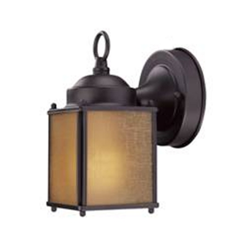 Design Classics Lighting Small Bronze Outdoor Wall Light with Compact Fluorescent Light Bulb 501ES-1-BZ