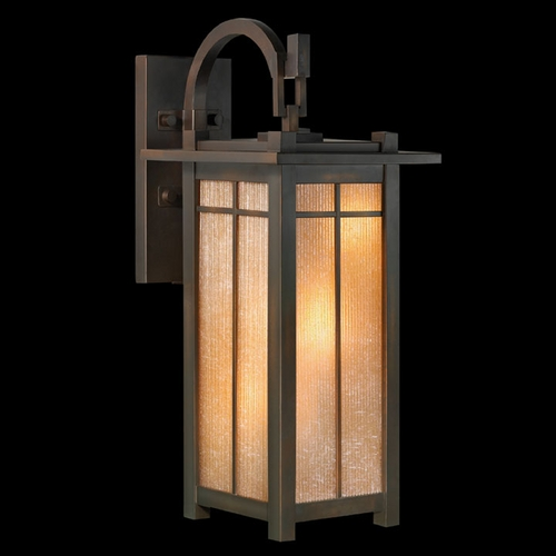 Fine Art Lamps Fine Art Lamps Capistrano Warm Bronze Patina Outdoor Wall Light 401281ST